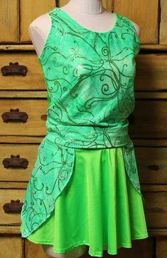 Complete Tinkerbell fairy princess Running outfit by suestevepat