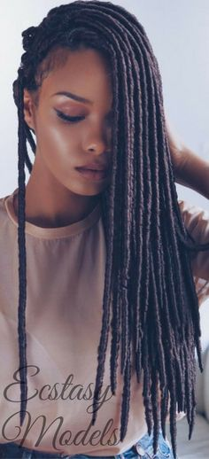 Beautiful Faux Locs | Protective Styles for Natural Hair | Long Protective Faux Locs | Inspiration | Hair Care