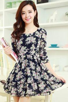¿Que vestidos de moda usar? Asombrosos vestidos casuales de moda