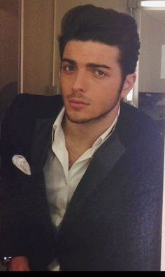 Gianluca, italian, perfect, sweet, voice like an angel... There is nothing else to ask :)