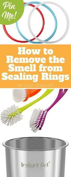 How To Remove The Smell From Sealing Rings