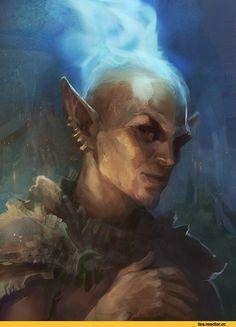 The Elder Scrolls,фэндомы,Morrowind,TES art,Вивек