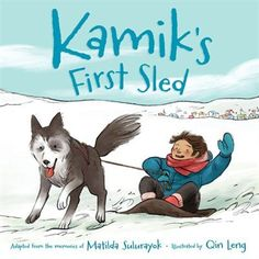 """Jake's puppy Kamik is growing quickly, but the dog isn't becoming any easier to handle. All Jake wants is to raise his puppy into a strong, fast sled dog, but Kamik is far from ready to pull a sled with a dog team."" #canlit #kidlit #picturebooks"