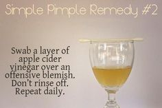 Simple Pimple Remedy