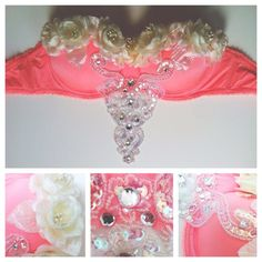 How to make a RAVE BRA: Flower Child Edition