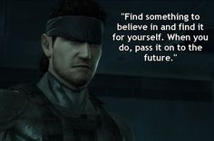 Solid Snake in Metal Gear Solid 2: Sons of Liberty