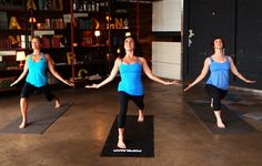 Feeling down? Try this yoga sequence for happiness from Jennifer Aniston's yoga Mandy Ingber.