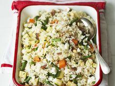 Reissalat mit Sardellen ist ein Rezept mit frischen Zutaten aus der Kategorie Reissalat. Probieren Sie dieses und weitere Rezepte von EAT SMARTER!