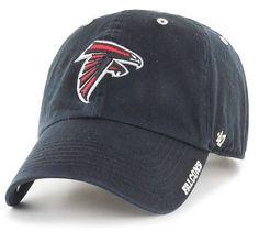 03d6344bc4e NFL Atlanta Falcons Black Ice Clean Up Hat