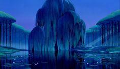 the willow tree in pocahontas - grandmother willow Pocahontas Tree, Pocahontas Disney, Disney Art, Disney Movies, Pocahontas Drawing, Walt Disney, Lego Disney, Disney Princess, Disney Background
