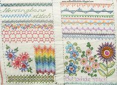 Million Little Stitches: Stitchin Fingers Basic Hand Embroidery Stitches, Embroidery Sampler, Diy Embroidery, Embroidery Techniques, Cross Stitch Embroidery, Embroidery Patterns, Embroidery Books, Knitting Books, Crochet Books