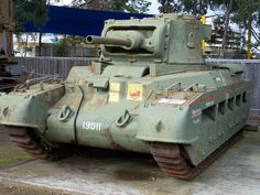 Matilda tank | Found this while playing Epic in Parramatta. … | Flickr - Photo Sharing!