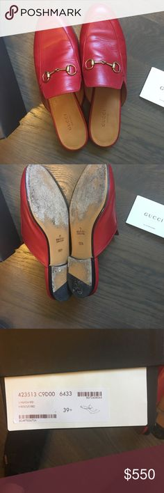 466118ca9900 Gucci Princetown Loafers Worn less than 5 times. Size 39.5. I am a 9