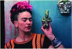 """I am my own muse..."" Frida Kahlo (1907-1954) #womensart"