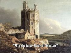 Eagle Tower, Caernarvon Castle Painting by Benjamin Barker Reproduction Well Known Poems, John Waterhouse, Mt Lady, The Lady Of Shalott, Great Poems, Pre Raphaelite, Anne Of Green Gables, Art Uk, Tower Bridge