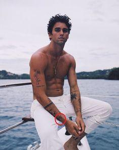 Jay Alvarrez's 42 Tattoos & Their Meanings – Body Art Guru Wrist Band Tattoo, Leg Tattoo Men, Boy Tattoos, Forearm Tattoos, Sleeve Tattoos, Tattoo Man, Back Tattoo Men, Mens Tattoos, Tattoo Script