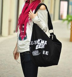 BONCANTA.COM - Tarz Sahibi, Dizayn Harikası, Premium Kalitede Çantalar ~ Whole World Kaukko Kanvas Sling Çanta (SB999)