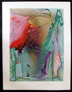 Salvador Dali - Le chevalier de la mort, 1972  (not actually in the Dali Tarot deck, but would make a great Death card)