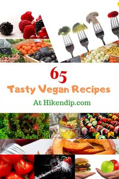 65 Easy Vegan Recipes which are loaded with Taste & Health - Hike n Dip Vegan Dinner Recipes, Delicious Vegan Recipes, Vegan Dinners, Vegetarian Recipes, Healthy Recipes, Veggie Recipes, Healthy Eats, Healthy Foods, Healthy Life