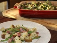 Roasted Potato and Ham Casserole | The easiest recipe for dinner ever!