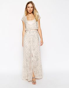 Buy Needle & Thread Embellished Aura Maxi Dress at ASOS. With free delivery and return options (Ts&Cs apply), online shopping has never been so easy. Get the latest trends with ASOS now. Evening Dresses Uk, Evening Outfits, Boho Wedding Dress, Boho Dress, Wedding Dresses, Chiffon, Maxi Robes, Casual Dresses, Formal Dresses