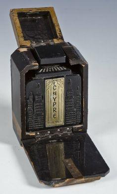 Chypre - Art Deco Perfume and Box