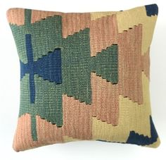 Linden and Lee - Kilim Pillow Cover