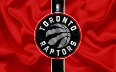 Descargar fondos de pantalla Raptors de Toronto, club de baloncesto, la NBA, emblema, logotipo, estados UNIDOS, la Asociación Nacional de Baloncesto, bandera de seda, de baloncesto, de Toronto, Canadá, los estados unidos de la liga de baloncesto