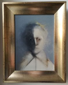 Vintage Oil Portrait