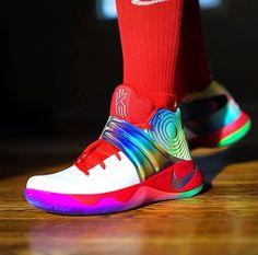 Rainbow Kyrie 2's