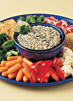 Canned Salmon - Recipes - Appetizers - Salmon-Veggie Party Dip. Haven't checked all recipes for LC/GF Appetizer Sandwiches, Yummy Appetizers, Appetizers For Party, Appetizer Recipes, Healthy Cooking, Healthy Snacks, Healthy Eating, Cooking Recipes, Healthy Recipes