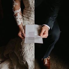 Pre-wedding letters 😍 These are by far one of my favorite wedding day traditions. Watching bride and groom read these special little notes… Wedding Goals, Wedding Pics, Wedding Couples, Wedding Engagement, Wedding Planning, Before Wedding Pictures, Outdoor Wedding Pictures, Marriage Pictures, Foto Wedding