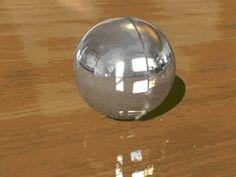 Slicing a Bead of Mercury in Half