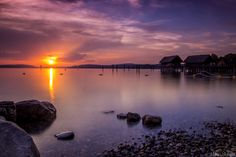 Sunset on Bodensee... by Aleksei Malygin on 500px