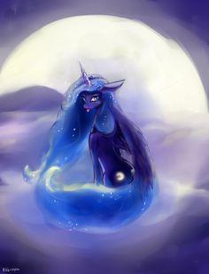 MLP: Luna by RikkuTakedo.deviantart.com on @deviantART