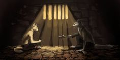 Nightingale and Thomen Kray by Cat-Patrisiya