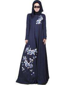 2016 Fashion Muslim Abaya Dubai Islamic Clothing For Women Muslim Abaya Jilbab Djellaba Musulmane Print Dress Cotton abaya