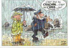 """Le """"crachin"""" brestois me manque..."""