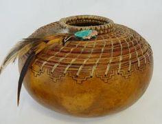 *Gourd Art by Gloria Crane