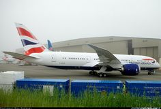 British Airways, Boeing 787-8 Dreamliner aircraft picture