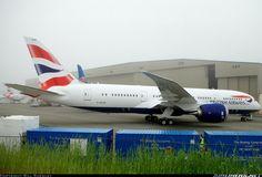 British Airways, Boeing 787-8 Dreamliner aircraft picture