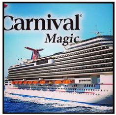 Someday we will go on the #CarnivalMagic for an #ExoticWesternCarribeanCruise