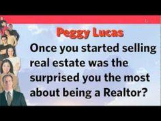 Greg Herder interviews Realtor Peggy Lucas. She shares the keys to her success. #GregHerder #Realtor #Videos