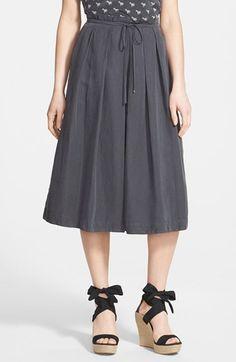Weekend+Max+Mara+'Benda'+Silk+&+Linen+Skirt+available+at+#Nordstrom