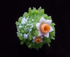 """NagahisaDo """"Chinese snow"""" ~~ This is a delicate Japanese candy. It's so lovely, how could you even EAT it?!"""