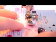 Invisible zipper installation using a regular zipper foot - YouTube