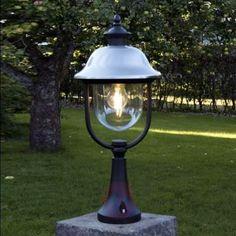 Prezzi e Sconti: #Intramontabile lampada con piedistallo parma in Acciaio inox alluminio  ad Euro 65.90 in #Konstsmide #Illuminazione esterna lampioncini