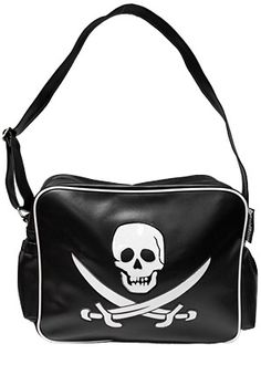 Pirate Skull Diaper Bag