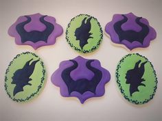 Maleficent cookies set by FlavorFavor