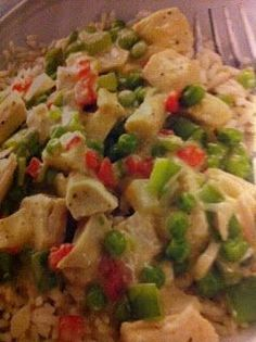 Easy crockpot recipes: Chicken A La King Crockpot Recipe
